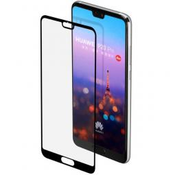 Защитный экран Huawei Mate 20 Pro Full Screen (3D) tempered glass FULL GLUE черный